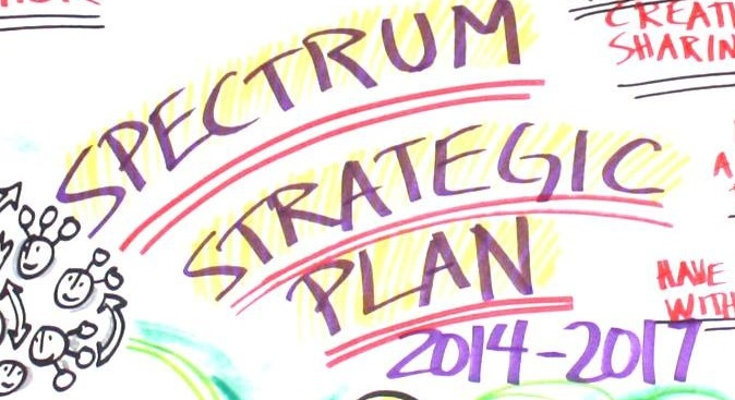 Spectrum's Strategic Plan 2014-2017 has five main goals