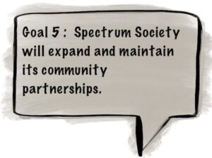 Goal 5 - Spectrum will expand and maintain our community partnerships